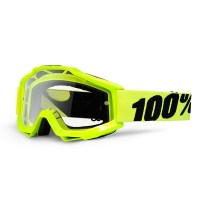 100percent_accuri_fluorescentyellow_clearlens_goggles